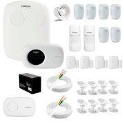 Kit Alarme Intelbras 12 sensores, Residencial e Comercial, AMT 2110, Completo