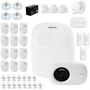 Kit Alarme Intelbras 18 sensores, Residencial e Comercial, AMT 2110, Completo