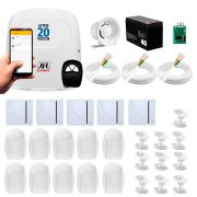 Kit Alarme JFL 15 Sensores, Active 20 Ethernet, Aplicativo Celular