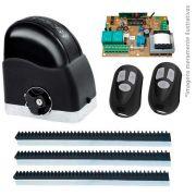 Kit Motor de Portão Automatizador Deslizante 1/3 Portão Eletrônico Slider Maxi PLUS Speedy RCG, 220V