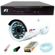 Kit Câmeras de Segurança 1080N Focusbras FS-MDF2M + DVR Focusbras 1080N + Acessórios