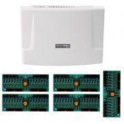 Kit Central de Interfone Condomínio com 80 Ramais, expansível até 112 ramais - Intelbras CP 112 + Placas Desbalanceadas