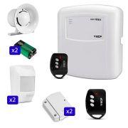 Kit de Alarme ECP 04 Sensores Sem Fio