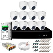 Kit Orion Giga Security 10 Câmeras HD 720p GS0019 + DVR Full HD com HD 1TB Seagate + Acessórios