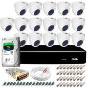 Kit Orion Giga Security 16 Câmeras HD 720p GS0019 + DVR Full HD com HD 1TB Seagate + Acessórios