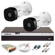 Kit Intelbras 2 Câmeras Full HD 1080p VHL 1220 B + DVR 3104 Intelbras  + Acessórios