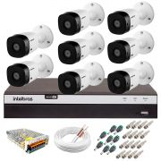 Kit Intelbras 8 Câmeras Full HD 1080p VHL 1220 B + DVR 3108 Intelbras  + Acessórios