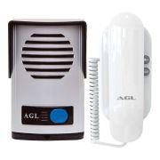 Kit Interfone Porteiro Eletrônico AGL P10 S - Alimentação Externa