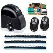 Kit Motor de Portão Automatizador Deslizante 1/4 Portão Eletrônico Slider Maxi Speedy RCG, 127V