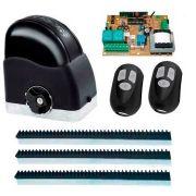 Kit Motor de Portão Automatizador Deslizante 1/4 Portão Eletrônico Slider Maxi Speedy RCG, 220V