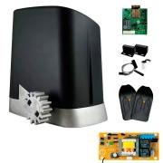 Kit Motor Portão PPA DZ Home 300Kg 1/4 Deslizante + Contatto Wi-Fi PPA Módulo Para Alarme e Portão Controle Via App Celular