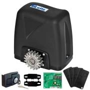 Kit Motor Portão Rossi DZ Atto Turbo 350Kg 1/5 Com Abertura Rápida + 4 Controles + Cremalheira