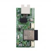 Módulo Ethernet e Wi-Fi ME-05 WB JFL, para comunicação via Internet, Aplicativo Celular