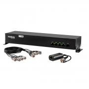 Power Balun de 4 Canais Intelbras VB 3004 WP - Resolução 4k, Vídeo e Alimentação via Cabo UTP, Função Bidirecional e Multi HD
