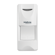 Sensor Externo de Presença Infravermelho IVP 3000 MW EX Intelbras Com Fio Passivo, 4 de IR e 5 de MW níveis de sensibilidade, Cobertura com ângulo de 110° e Alcance de 12m - PET 35 Kg