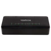 Switch 8 portas Fast Ethernet com VLAN fixa SF 800 VLAN ULTRA Intelbras