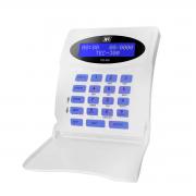 Teclado LCD Com Fio JFL TEC-300 Para Central de Alarme JFL