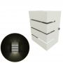 Arandela 3 Frisos Moderna, Soquete Comum Eco E27 , Para Ambientes Internos e Externos Mf130