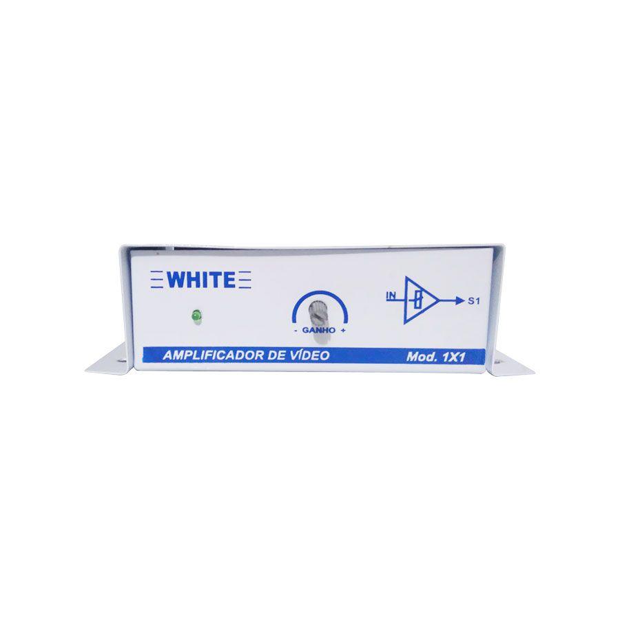 Amplificador de Vídeo White 1X1  - Tudo Forte