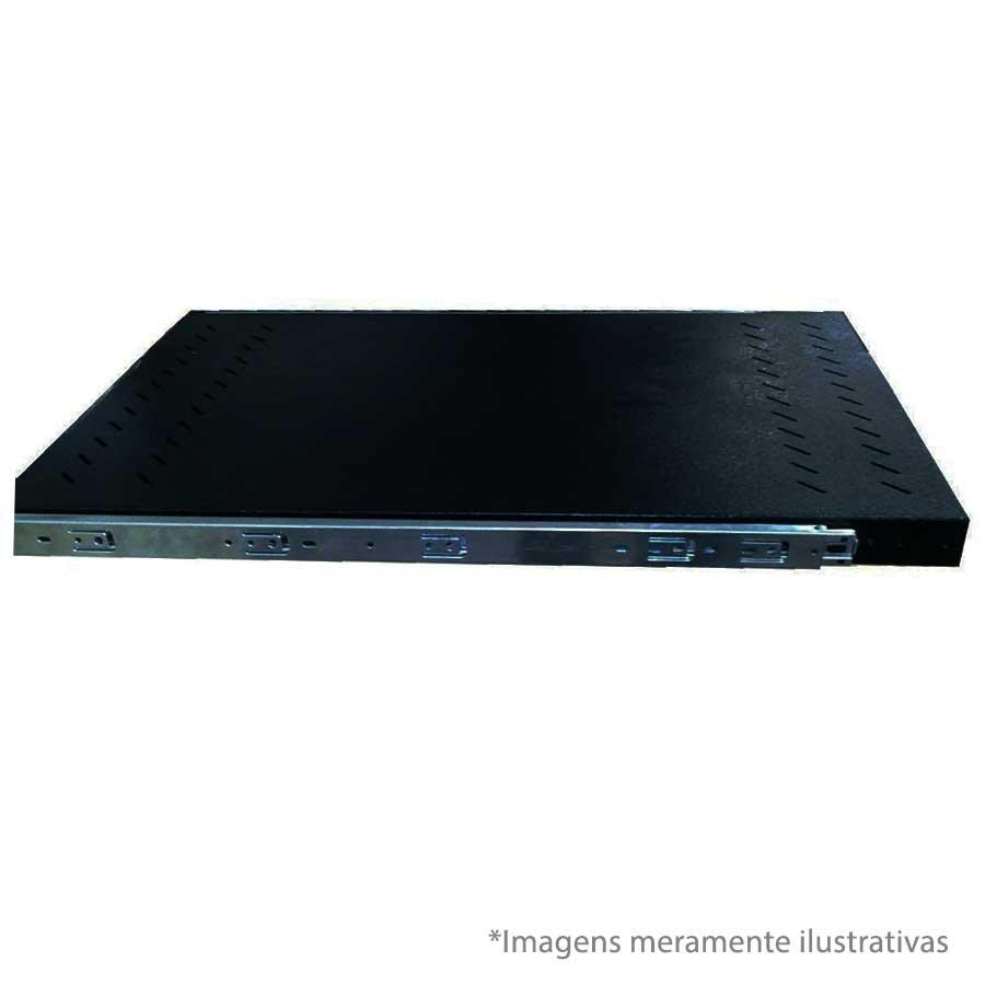 "Bandeja Fixa 19"" - 1U X 900mm - Para Rack BBK"