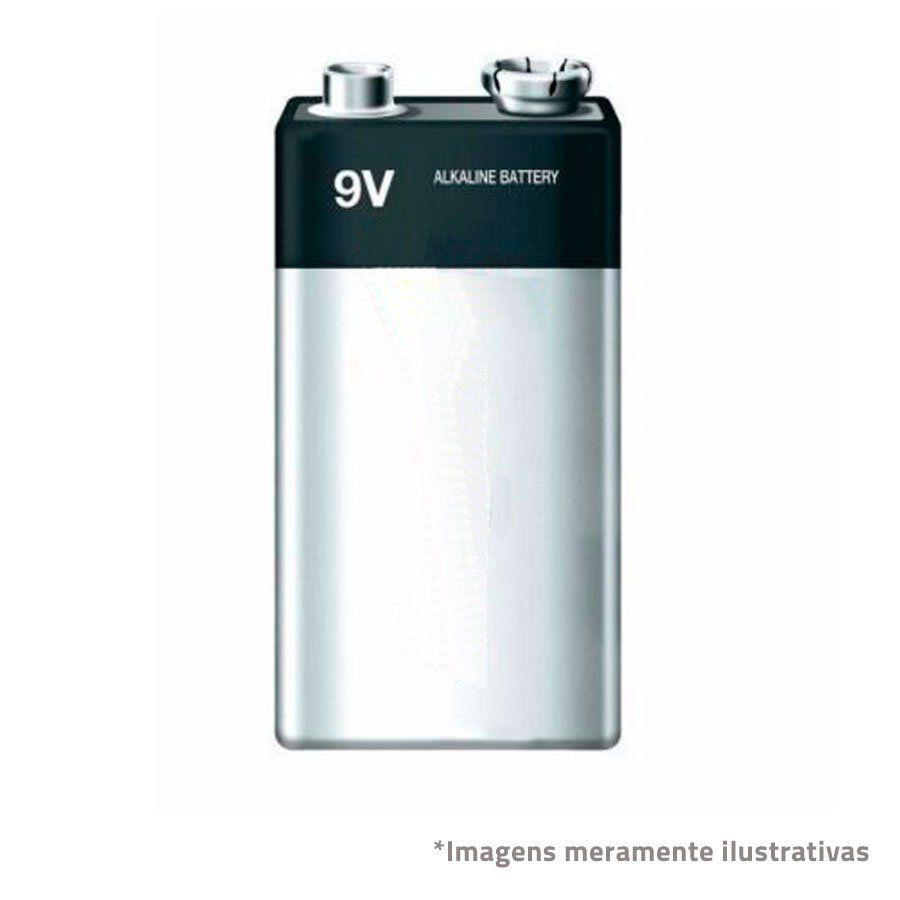 Bateria 9V  - Tudo Forte