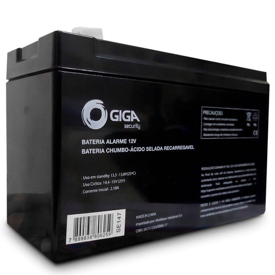 Bateria de Alarme e Cerca Elétrica Giga Security GS0077