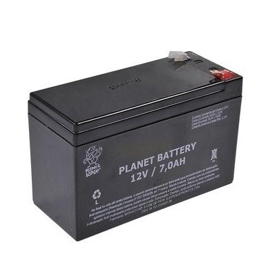 Bateria de Alarme e Cerca Elétrica Planet 12AL 12v  - Tudo Forte