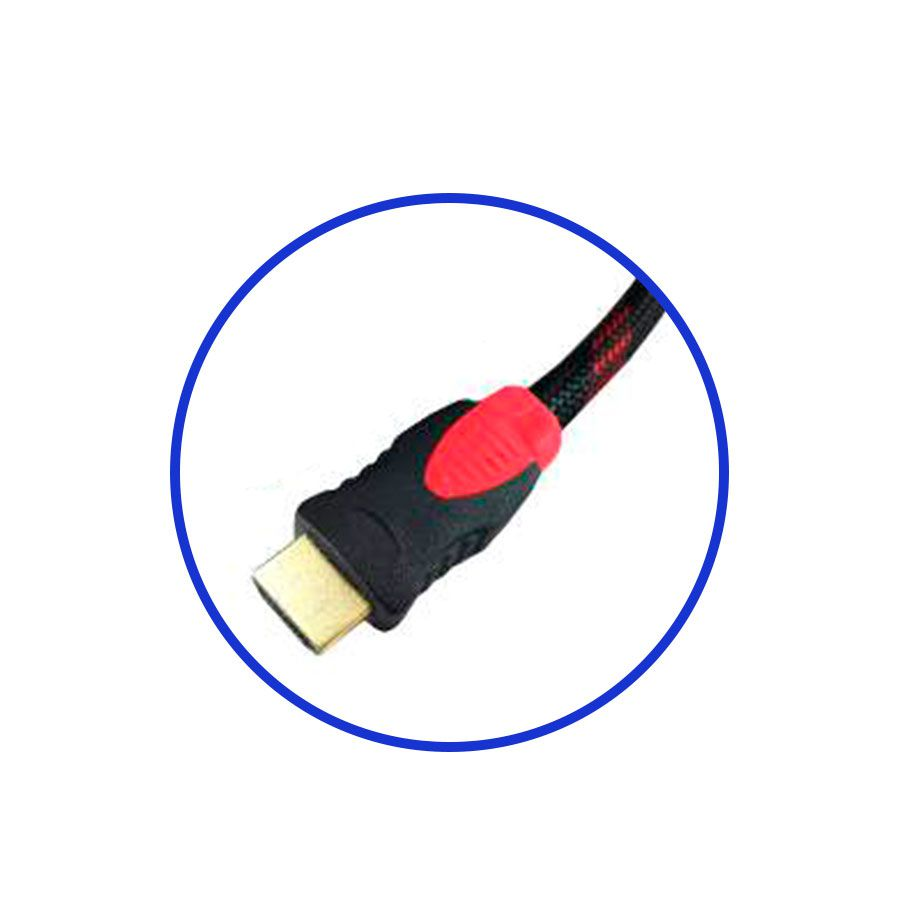 Cabo HDMI 1,5m Conector Dourado  - Tudo Forte