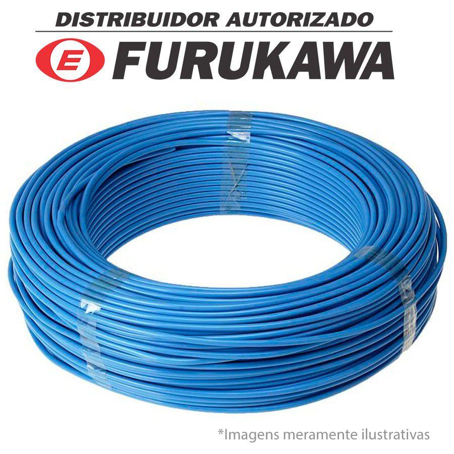 Cabo de Rede Lan Furukawa Soho Plus, Azul, 305m, CMX, CAT 5E, Lan UTP, 4 Par Trançado, 100% Cobre, 24AWG  - Tudo Forte