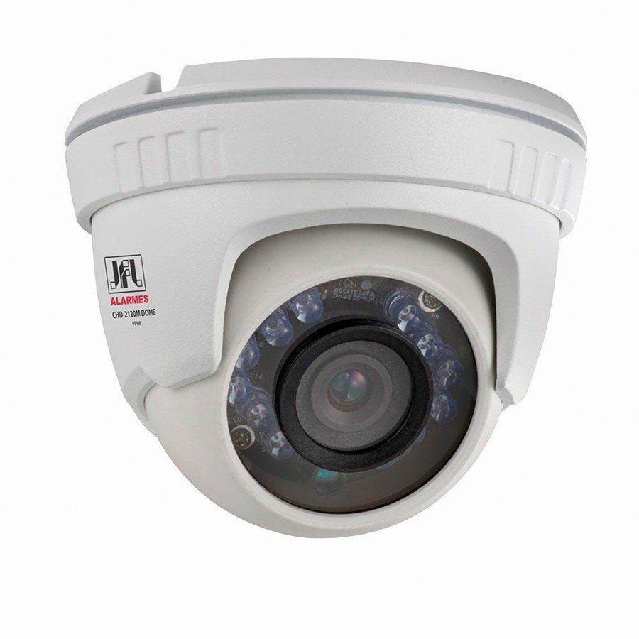 Câmera JFL CHD-2120M Full HD 1080p Dome 20 Metros, Lente 2,8mm  - Tudo Forte