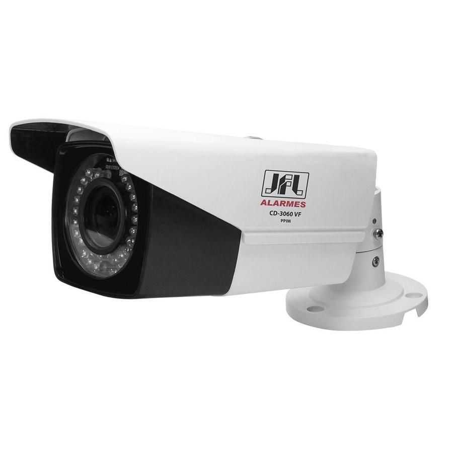 Câmera JFL CHD-2160VF Full HD 1080p Bullet 60 Metros, Lente Ajustável 2,8 a 12mm  - Tudo Forte