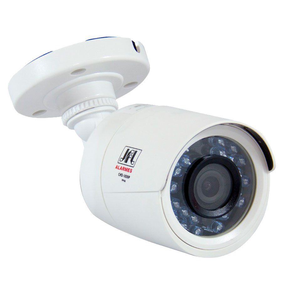 Câmera JFL CHD-1130P HD 720p Bullet 30 Metros, Lente 2,8mm