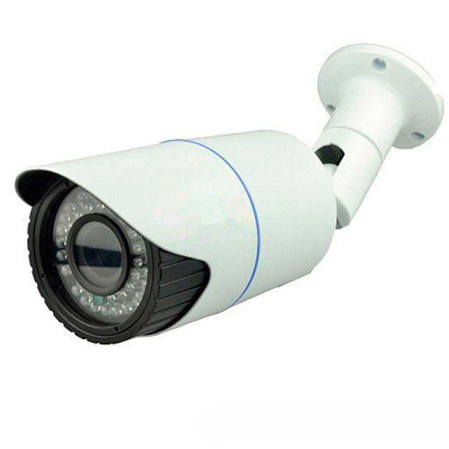 Câmera Bullet HD 720p Varifocal 2,8mm a 12mm Infravermelho Focusbras FBR 40m Visão Noturna - AHD - Similar Intelbras VHD 3140 VF