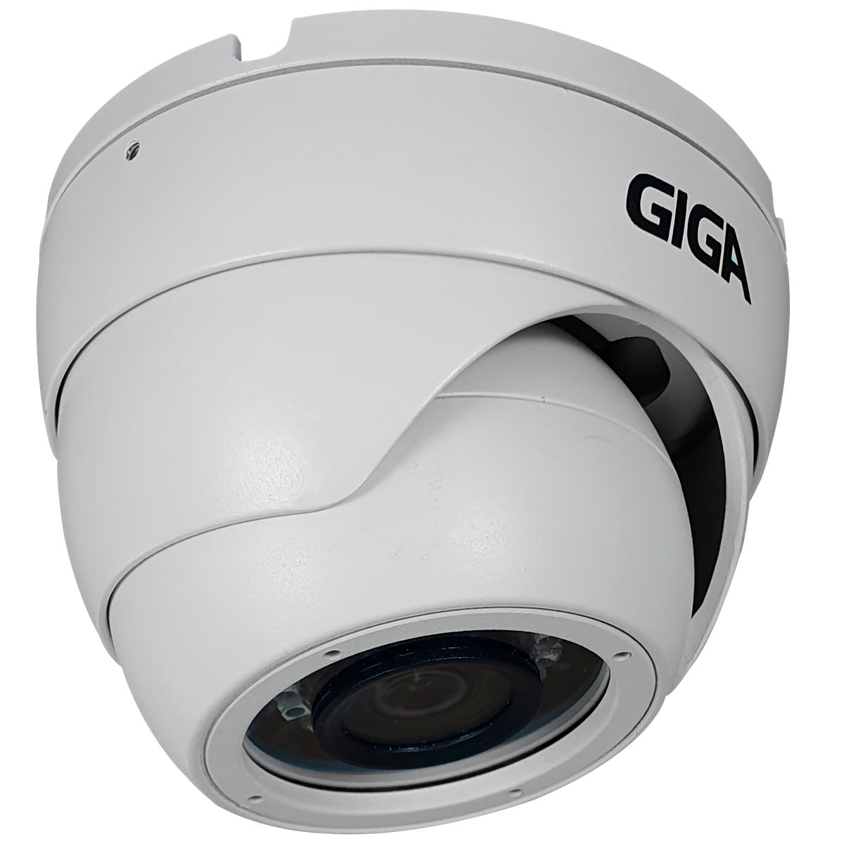 Câmera Full HD 1080p Giga Security GS0272 Orion, 2MP, Infravermelho 30 metros, 4 em 1 HDCVI, HDTVI, AHD, ANALÓGICO  - Tudo Forte