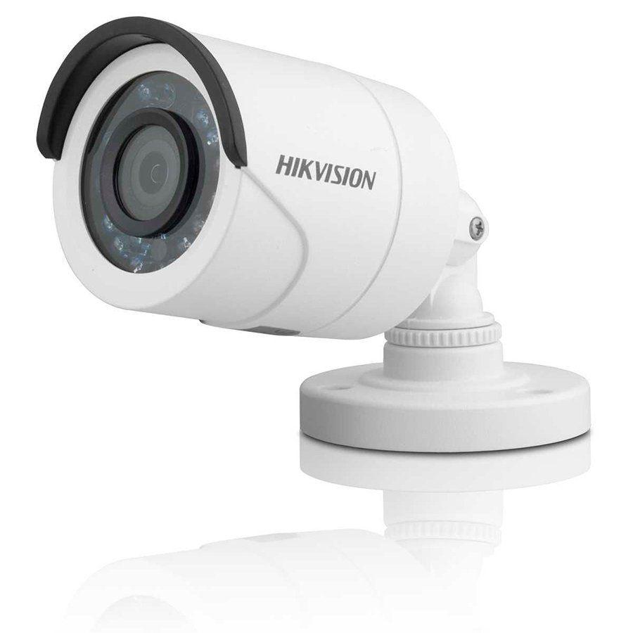 Câmera de Segurança Hikvision - 1MP, HD 720p, Visão Noturna Infra 10 metros - TVI