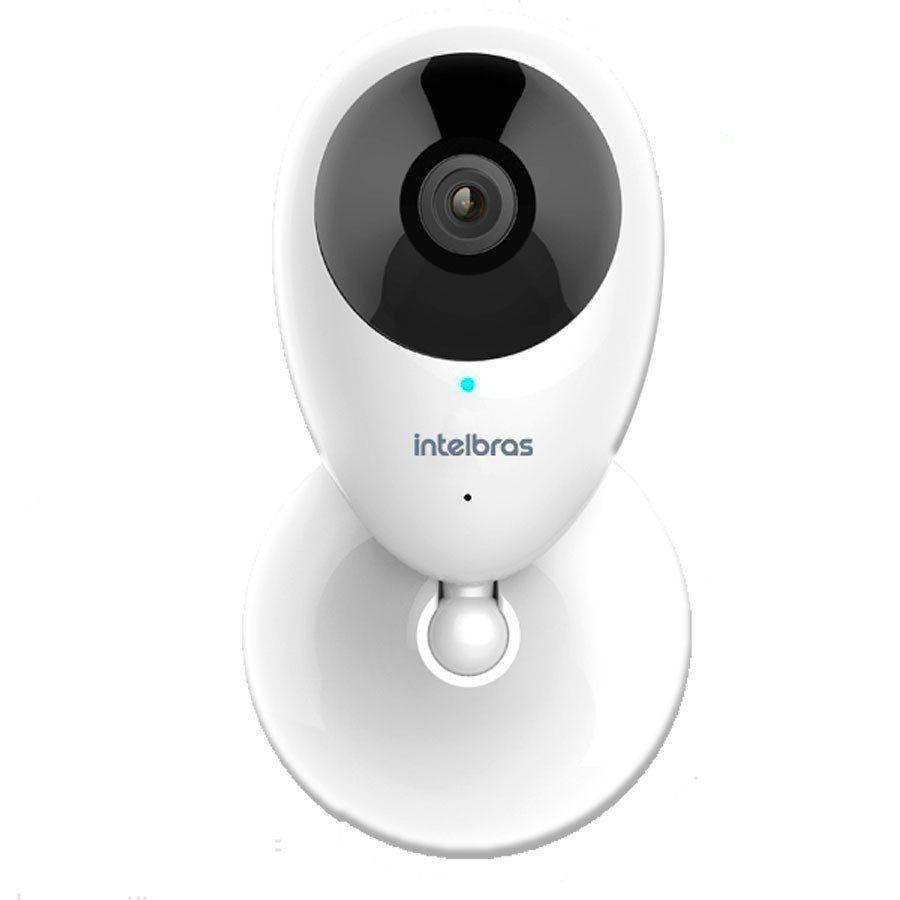 Câmera de Segurança Intelbras Wifi Sem Fio Mibo iC3 - Resolução HD 720p e Audio - Uso Interno  - Tudo Forte