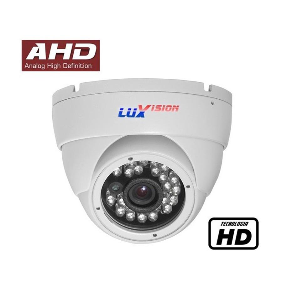 Câmera Dome Infravermelho AHD Luxvision LVC5110D HD 720p 2,8mm  - Tudo Forte