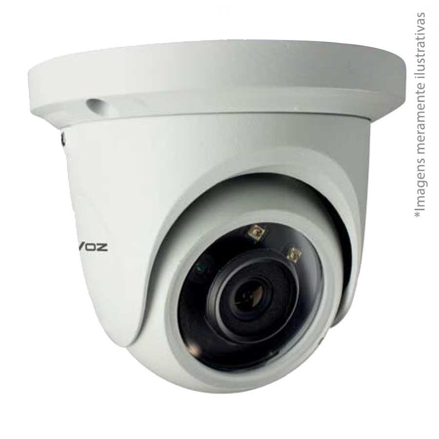 Câmera IP Dome Infravermelho TW-IDM100 Tecvoz 1.0MP (720p) Lente 3,6mm  - Tudo Forte