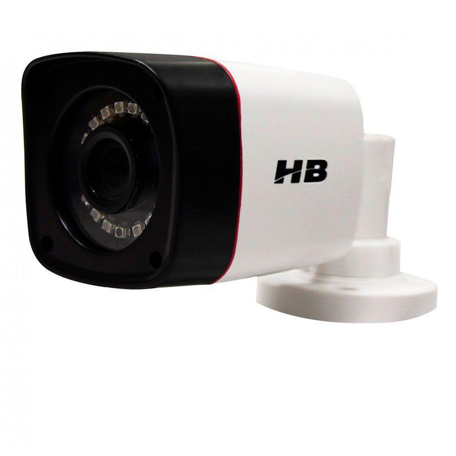 Câmera Full HD 1080p HB Tech HB-402, AHD, HDTVI, HDCVI, CVBS