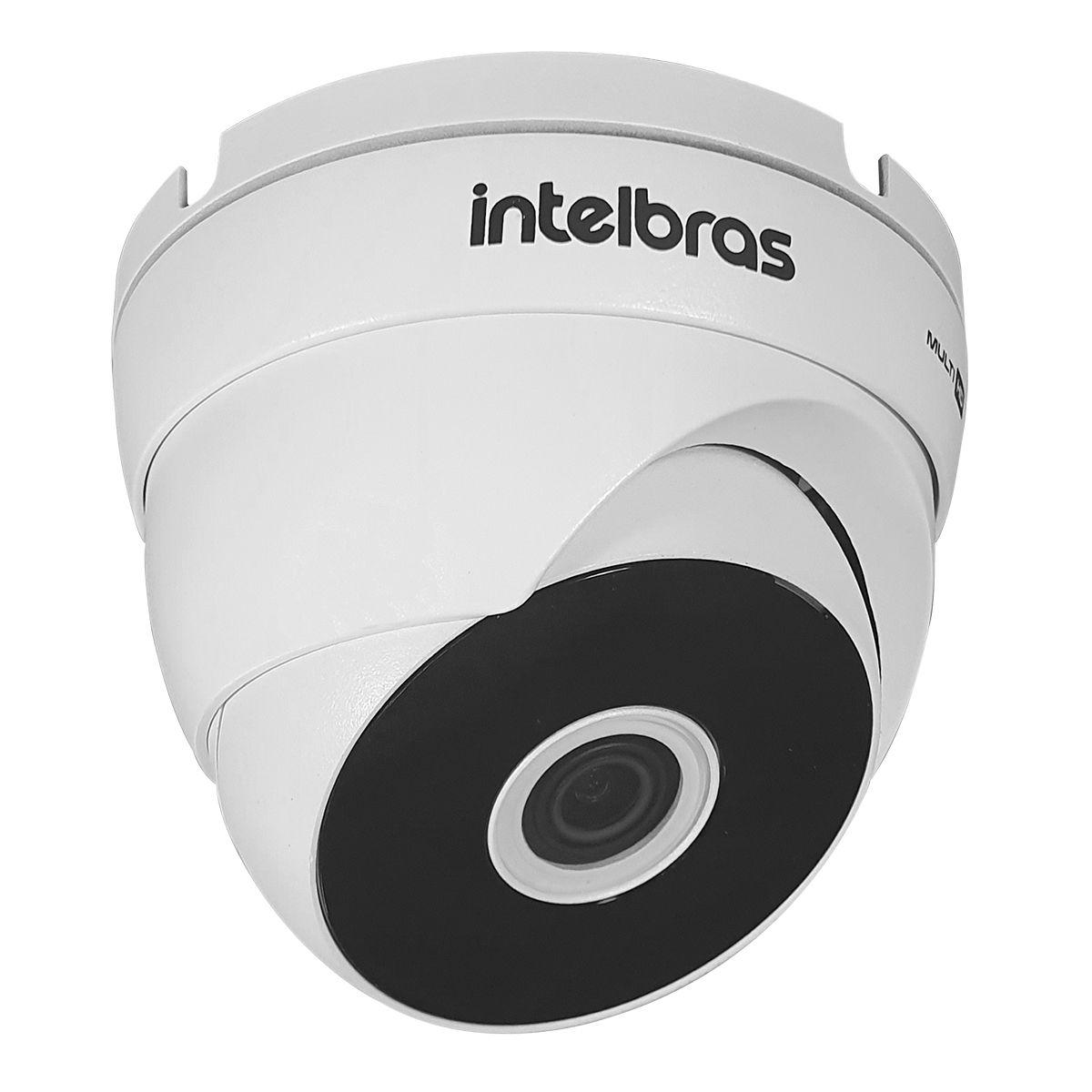 Câmera HD 720p Intelbras VHD 3120 D G5 20m de Infravermelho Dome Resistente à Chuva IP66  - Tudo Forte