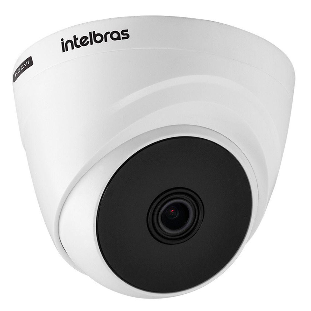 Câmera HD 720p VHD 1120 D G5 Intelbras 20m de Infravermelho Dome, para ambiente interno  - Tudo Forte