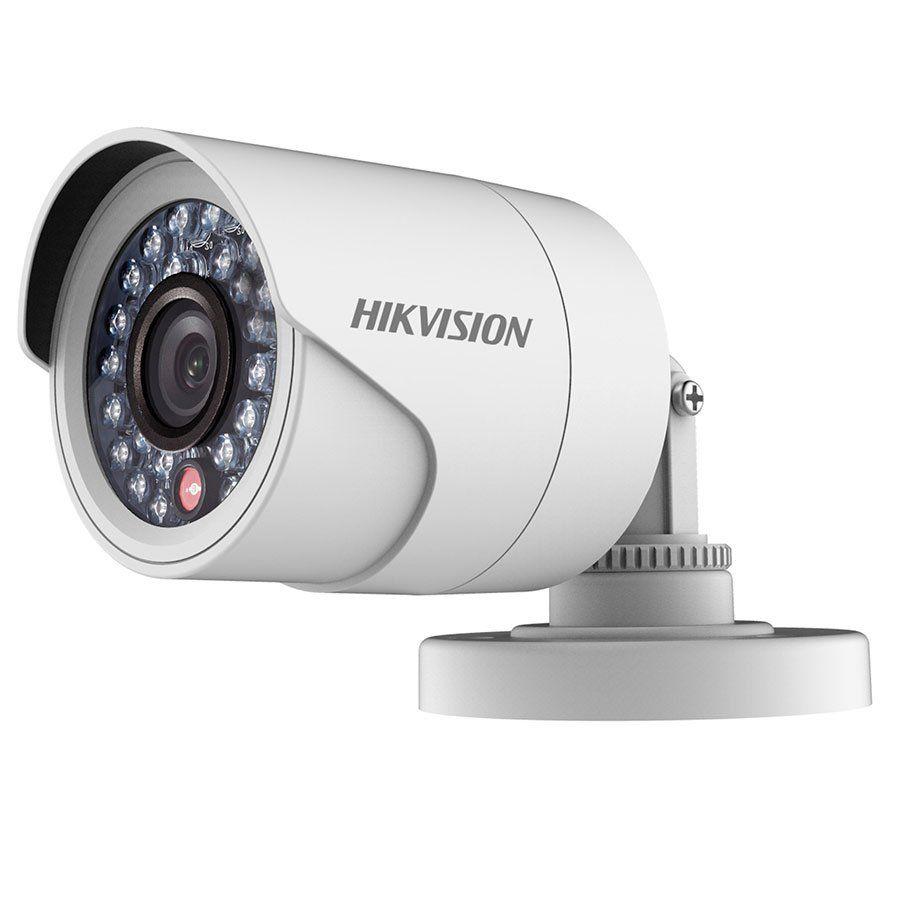 Câmera Hikvision DS-2CE16COT-IRF HD 1MP 720p Turbo HD Bullet 20 metros Lente 3,6mm