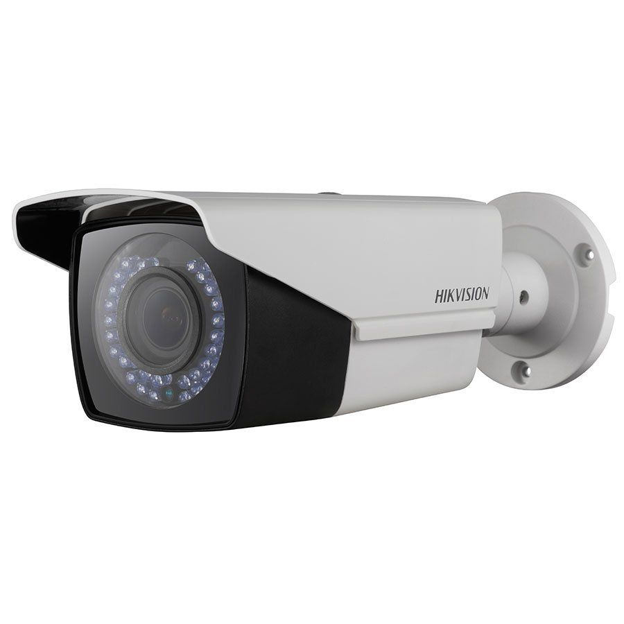Câmera Hikvision DS-2CE16COT-VFIR3F HD 1MP 720p Varifocal Turbo HD Bullet 40 metros  - Tudo Forte