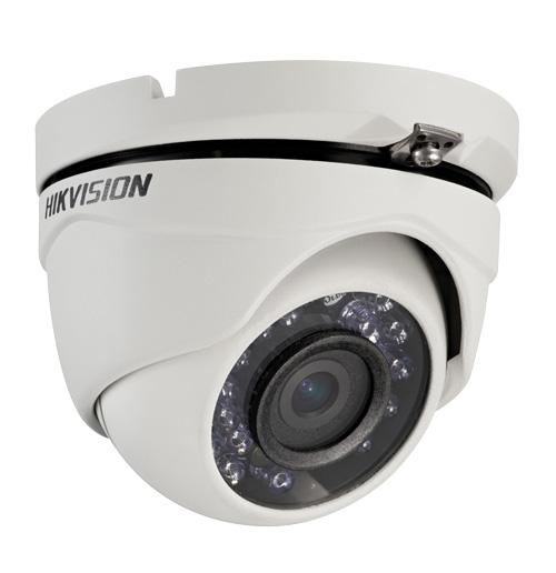 Câmera Dome Infravermelho HDTVI Turbo HD Hikvision HD 720p 2,8mm
