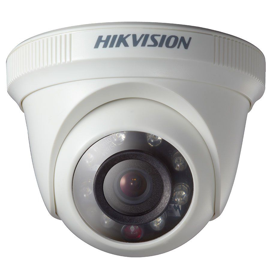 Câmera Hikvision DS-2CE5ADOT-IRP 2MP Full HD 1080p Turbo HD Dome 10 metros