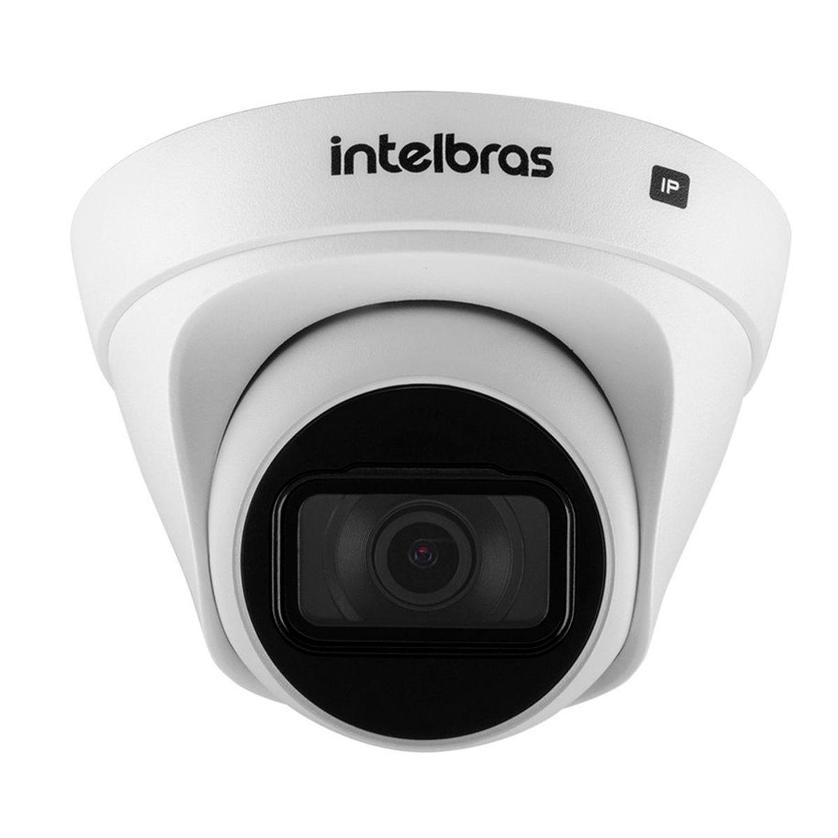 Câmera Intelbras IP HD 720p VIP 1020 D G2 com Lente 2,8mm, Visão Noturna 20m, Dome IP66 Resistente à Chuva, Onvif  - Tudo Forte