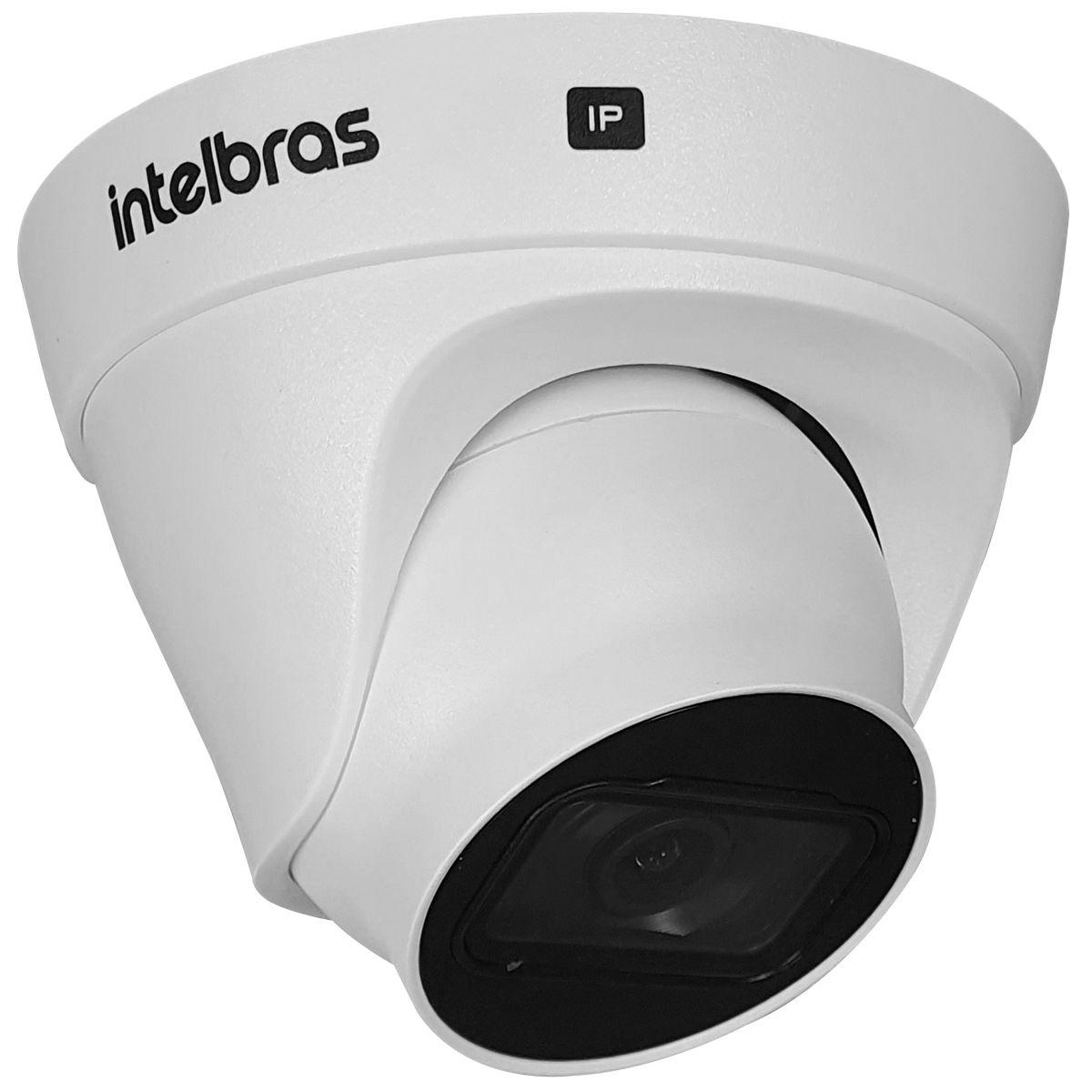 Câmera IP Intelbras VIP 3220 D, Full HD, 1080p, PoE, Lente 2,8mm, Alcance de 20 metros  - Tudo Forte