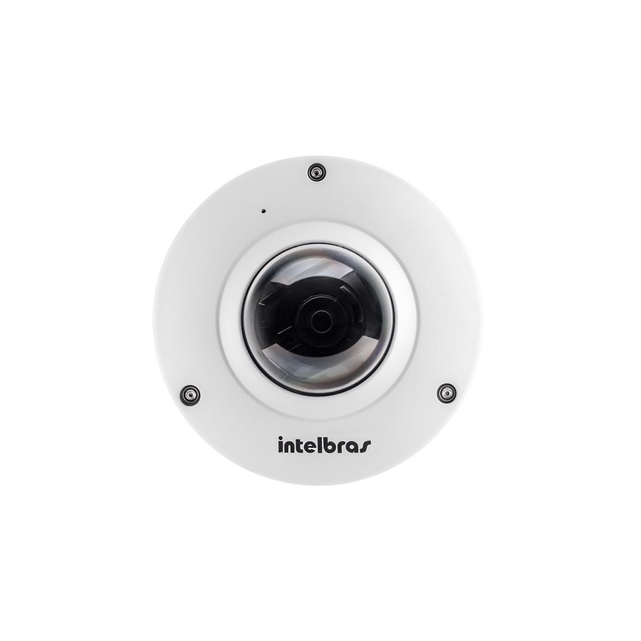 Câmera IP 360 Graus Intelbras Fisheye VIP E6400 4.0 Megapixels  - Tudo Forte
