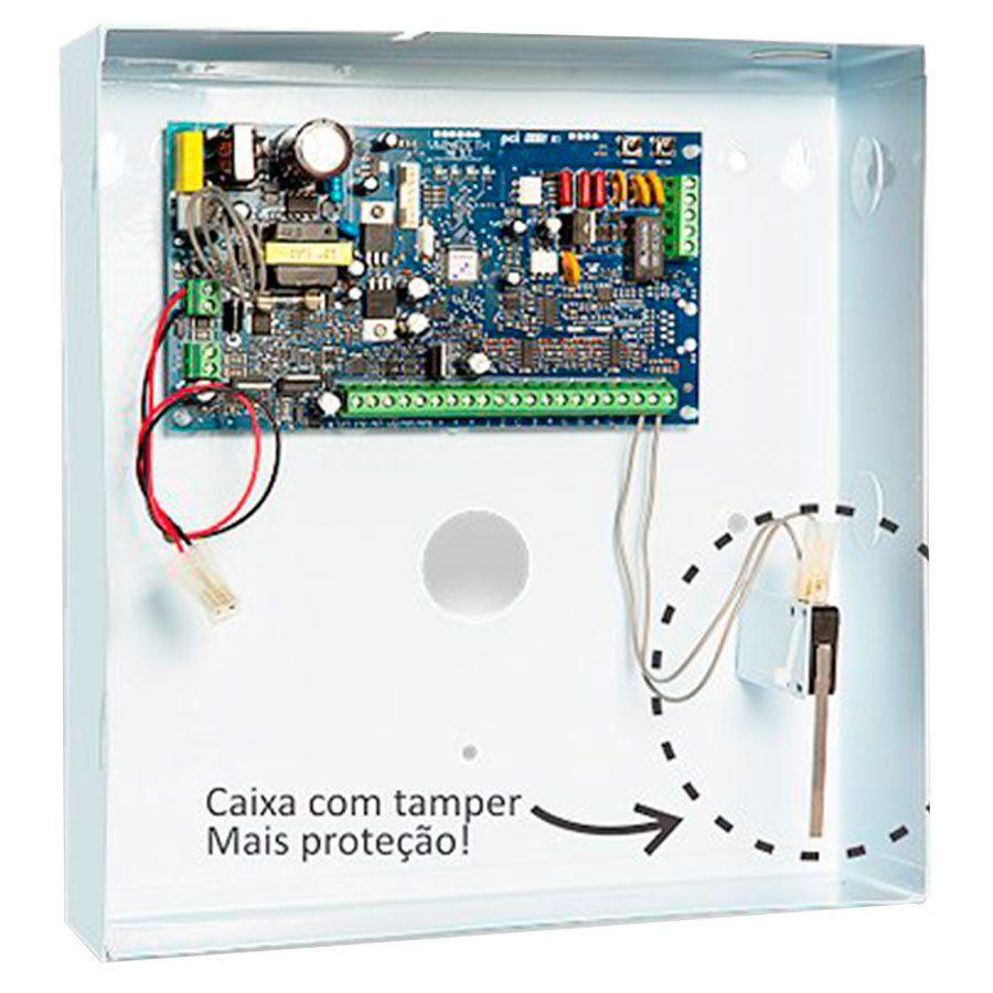 Central 16Z IP Star + Caixa + Tamper  - Tudo Forte