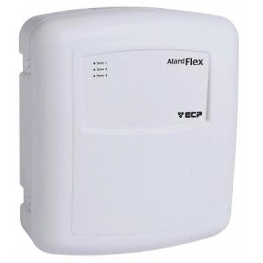 Central de Alarme Alard Flex 1 ECP com 01 Controle Remoto, 1 Setor Com e/ou Sem Fio